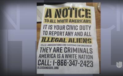 Volantes discriminatorios provocan indignación en la Universidad de Texa...