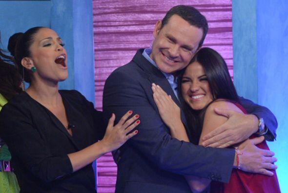 Todos le desearon mucha suerte a Maite en su telenovela y también con su...