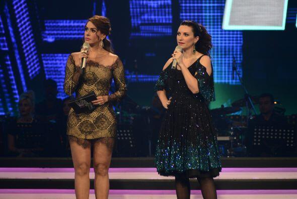 Otro momento muy especial de la noche fue cuando Laura Pausini eligió a...