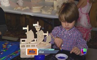 Varios niños unen esfuerzos para recaudar fondos para el Teletón USA