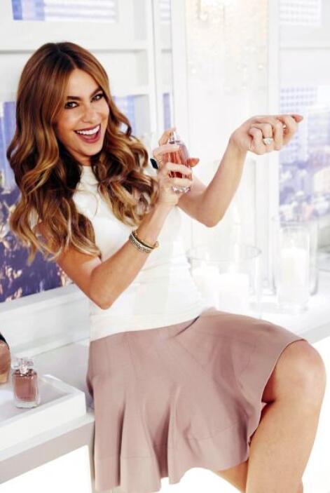 Sofía aseguró que este perfume es sencillamente divino.