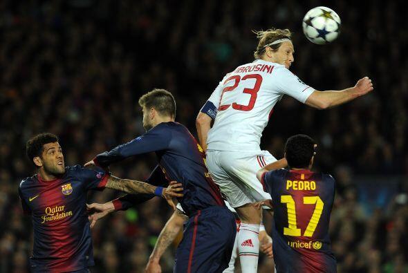Barcelona salió en tromba desde elpitazo inicial.