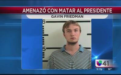 Enfrenta cargos federales el texano que amenazó con matar al presidente