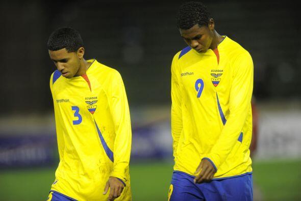 El equipo de Ecuador estuvo sumiso en el primer tramo del partido y atre...