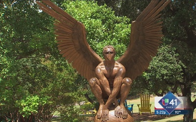 San Antonio acoge obra del escultor Jorge Marín