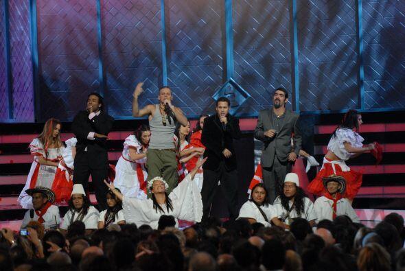 Calle 13 armó tremendo show en el 2007.