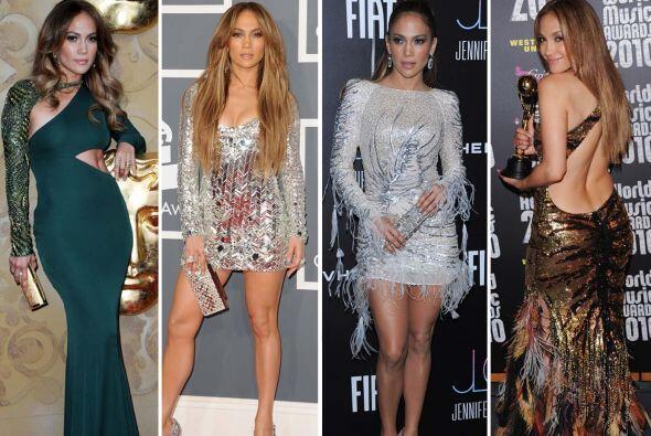 Jennifer Lopez puede presumir de un estilo impecable y de un cuerpo llen...