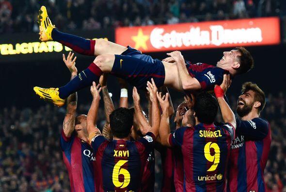 Este año Messi rompió el récord de Máximo goleador de la Liga española q...