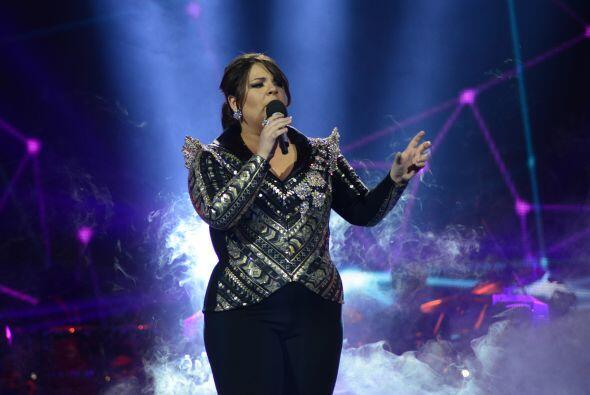 Durante la gala 10, Yazaira le cantó a Thalía.
