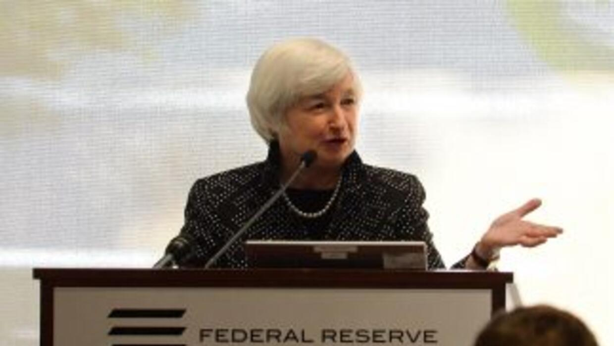 La presidenta del banco central, Janet Yellen.