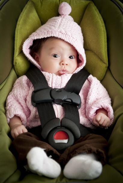 Asientos. El lugar más seguro para tu bebé es en una sillita de coche ap...