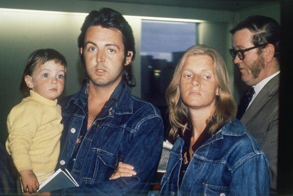 Linda McCartney fue la primera esposa del músico.