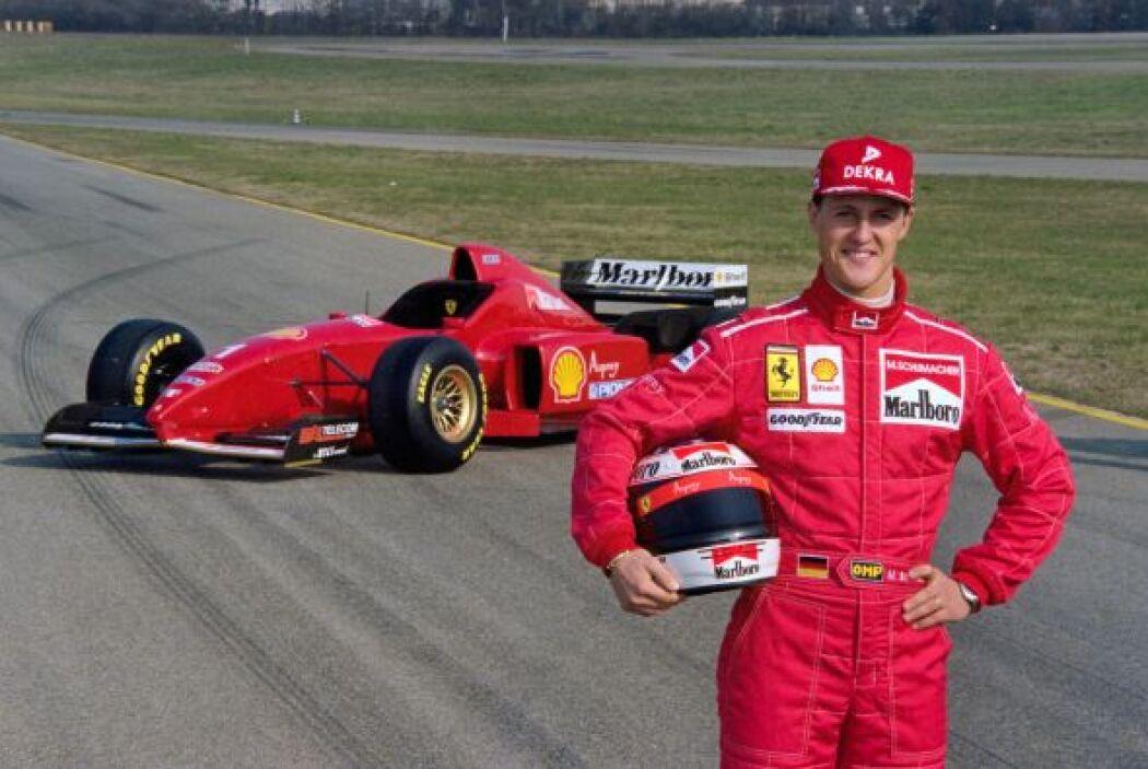 Para la temporada de 1996, Ferrari contrató a Michael Schumacher como su...