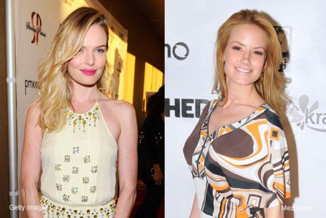 Muchos no la conocerán pero ella es Kate Bosworth y creemos que bien pod...