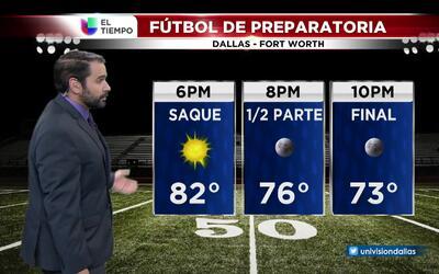 El tiempo: fútbol de preparatoria