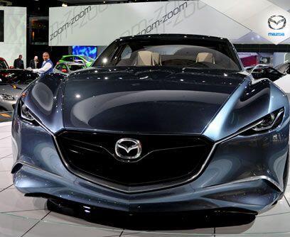 Mazda Shinari Concept Este modelo de la firma japonesa debía haber debut...