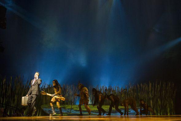 "Parte del equipo de 107.5 Amor compartió en el Cirque Du Soleil ""Totem""..."