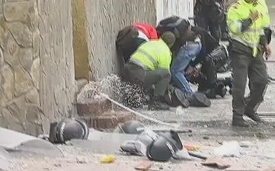 Fuerte explosión en Bogotá deja al menos 26 heridos