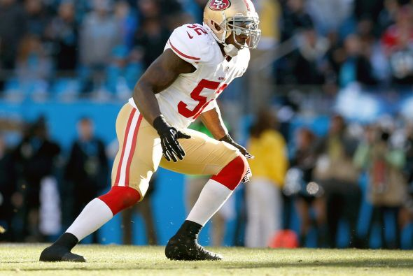 Apoyador interno: Patrick Willis, San Francisco 49ers.