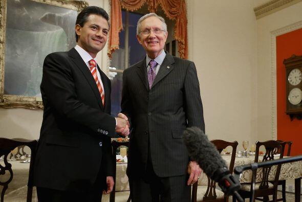 Tras la reunión privada con Obama, Peña Nieto sostendr&iac...