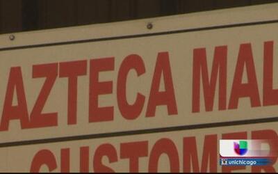 El Azteca Mall nos robó dicen comericiantes