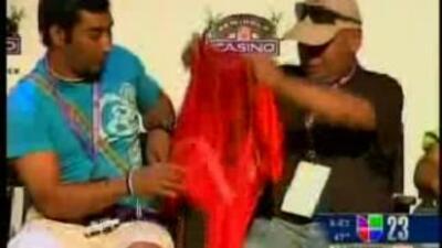 13 de los 33 mineros chilenos visitaron al Casino Seminol de Coconut Cre...