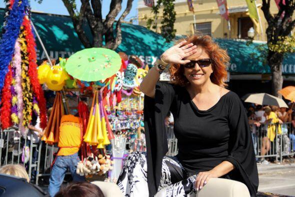 La gran cantante Cubana y residente de Miami, Albita Rodriguez también h...
