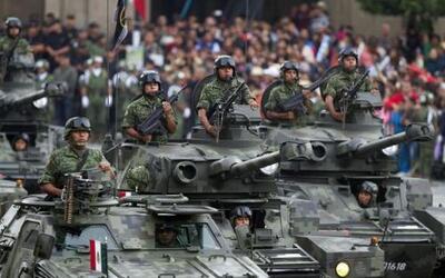 Con la participación de 12,442 integrantes del Ejército, la Armada y la...