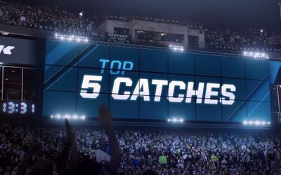 Semana 3 NFL: Las 5 mejores recepciones