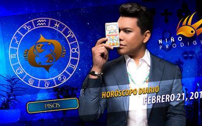 Niño Prodigio - Piscis 21 de febrero, 2017