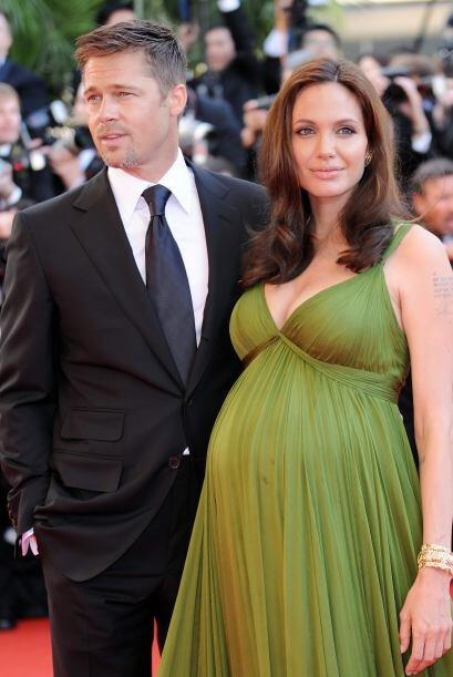 Fue en 2008 cuando Angelina robó la atención de las cámaras en el Festiv...