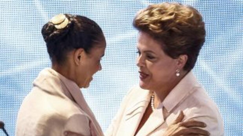 Todos los sondeos indican que el próximo domingo Rousseff y Silva serán...