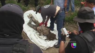 Macabro hallazgo en México