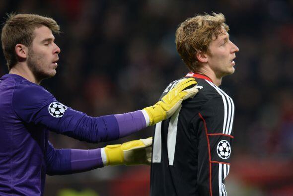 El Leverkusen no podía hacer pesar su estadio y su ataque luci&oa...