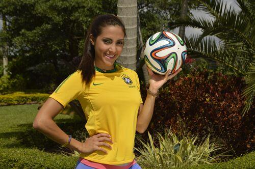 La única venezolana de la competencia nos cautivó con su b...