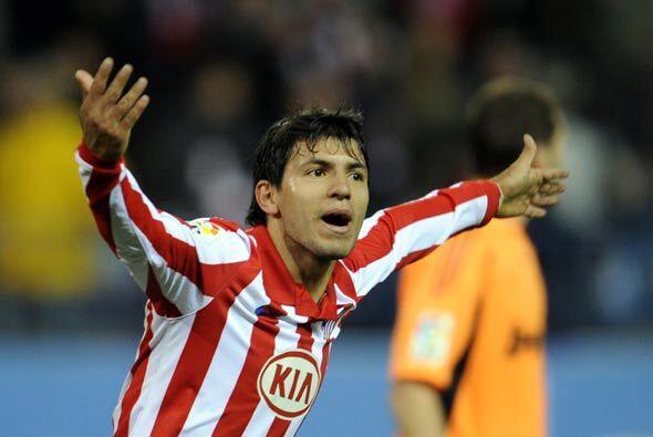 El 'Kun' hizo el segundo del Atlético y le devolvió la emoción al partido.
