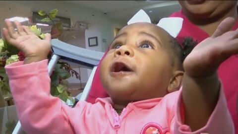 Esta bebé definitivamente tiene un ángel de la guarda con súper poderes