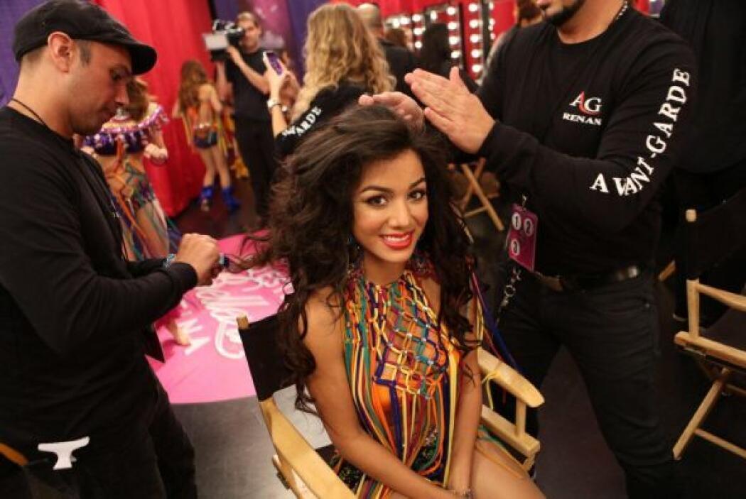 Ondas marcados fueron el estilo que mostraron sus cabelleras.