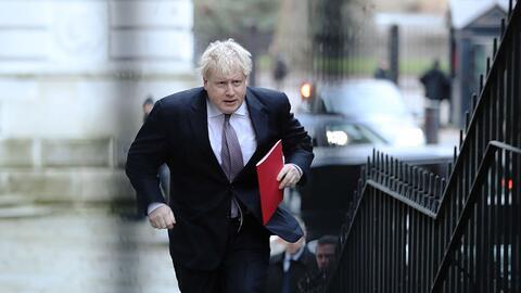 Boris Johnson, ministro de Asuntos Exteriores británico