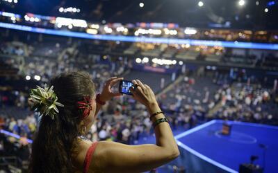 Se espera que como en 2012 haya hispanos hablando en el escenario princi...