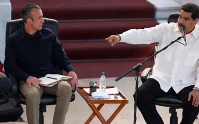 Maduro exige que EEUU le pida disculpas a Tareck El Aissami por las sanc...
