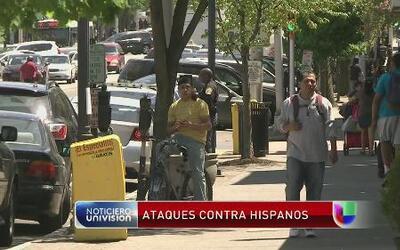 Hispanos se han convertido en blanco de ataques en el área de Englewood,...