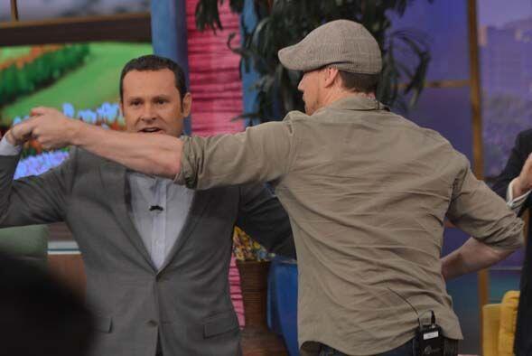 ¡Channing y Jamie tuvieron una gran prueba! ¡Aprender a bailar salsa!