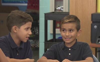 """Niño de escuela en Nueva Jersey: """"No me gusta que Donald Trump vaya a ha..."""