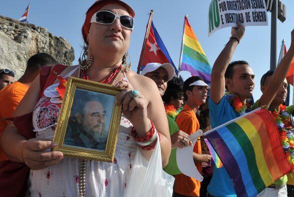 Aunque los derechos de los gays han ido avanzando en diversos paí...
