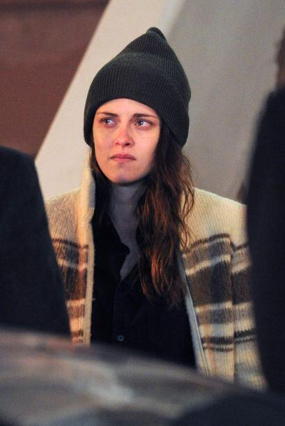 ¡Carita que se carga Kristen Stewart cuando no trae maquillaje! Esta chi...