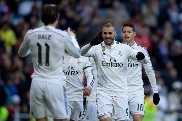 Sin el ariete portugués, Benzema (11 goles) ha tomado las riendas, en el...