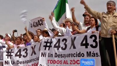 Padres de los 43 estudiantes desaparecidos en Guerrero están desesperados