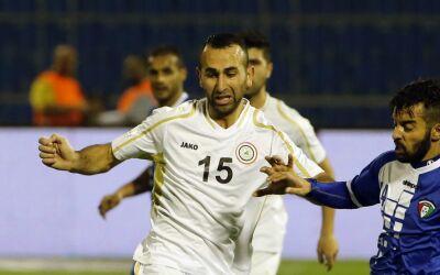 Justin Meram con la selección de Iraq