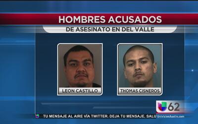 Autoridades arrestan a los sospechosos de un asesinato en Del Valle